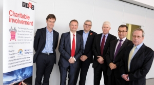 20right) with workshop speakers (left to right) Martin Carter, Michael Appleby, Graham Bellman, Ian Brooks and Mark Edwards